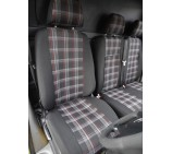 Renault Trafic (2014 onwards) Van Seat Covers - Made To Measure - GTI Sports Fabric
