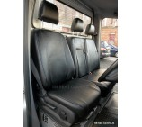 Mercedes Sprinter (2006 onwards) Van Seat Covers - Made To Measure - Leatherette Black