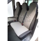 VW Transporter T6 Van Seat Covers - 157 Fabric