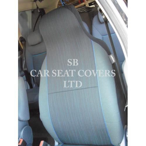 Nissan Nv200 Van Seat Covers Yaro Blue Fleck