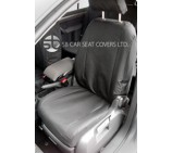 VW Caddy Maxi Life Seat Covers - 7 Seater Custom Fit  Waterproof Black