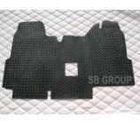 Ford Transit van floor mat 1 piece checkered rubber mat custom fit- 2000-2005 models.