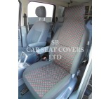 VW Transporter T5 Van Seat Covers - Matrix