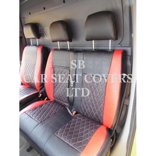 Mercedes Sprinter 2006 Onwards Van Seat Covers Rossini