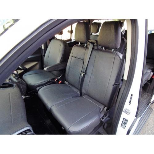 Ford Transit Custom 9 seater mini bus seat covers - black