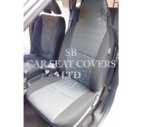 VW Transporter T5 Van Seat Covers - Retro Grey