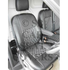 Ford Transit Custom Van Seat Covers Rossini Diamond