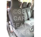 Renault Master Van Seat Covers (2003 - 2009) - Rossini Anthracite Sports