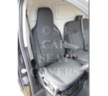 Vauxhall Movano Van Seat Covers (2010 onwards) - Rossini Anthracite