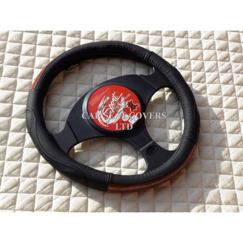 Mercedes sprinter van steering wheel cover swc 29 mahogany for Mercedes benz sprinter wheel covers