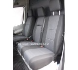 Mercedes Sprinter van seat covers made to measure- Mercedes anthracite original fabric - 2012 model