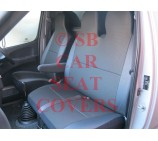 Toyota Hiace Van Seat Covers Dark Anthracite