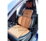 VW  Transporter T5 2 Seater Van Seat Covers - YS 09 Rossini Tan 2 Fronts (a pair)