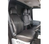 Ford Transit Van 2006 - 2012 Seat Covers - Made To Measure Leatherette - VSC500