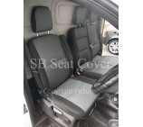 Ford Transit Custom Van Seat Covers- Sports Perforation Fabric Full Set