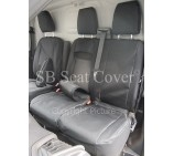 Ford Transit Custom Van Seat Covers- Waterproof Black Made to Measure