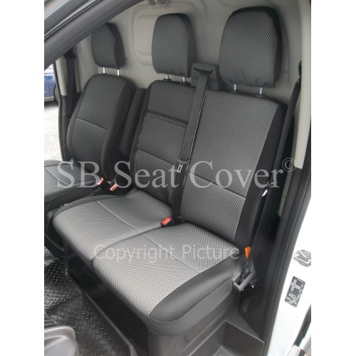 Ford Transit Custom Van Seat Covers Sports Perforation