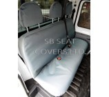 Ford Transit Tipper 2011 Seat Covers Waterproof Canvas Grey