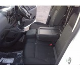 Citroen Berlingo van seat covers-2010 onwards  made to exact measure in anthracite cloth fabric (S+D with 4 Piece Double)