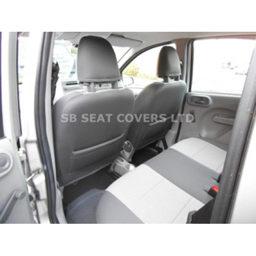 Vw Caddy Maxi Life Seat Covers 7 Seater Custom Fit
