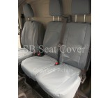 Ford Transit 2014 Van Seat Covers - Waterproof Grey Made to Measure