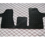 Mercedes Vito Van floor mat 1 piece checkered rubber mat custom fit up to 2004 model
