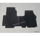 Renault Traffic van floor mat 1 piece checkered rubber mat-custom fit