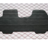 Vauxhall Vivaro van floor mat 1 piece checkered rubber mat-custom fit