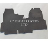 Ford Transit van one piece floor mat in Grey carpet 2006 + models