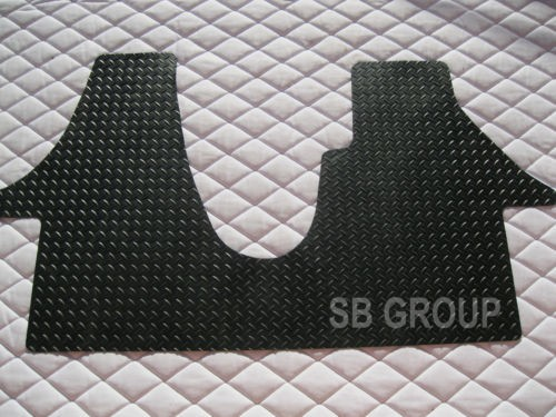Vw transporter t5 van floor mat 1 piece checkered rubber for 1 piece floor mats