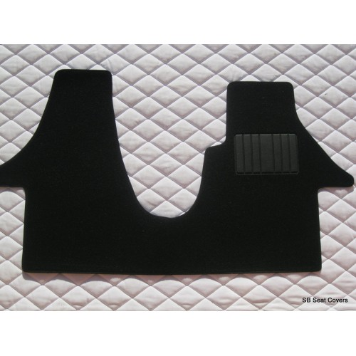 Vw transporter t5 van floor mat complete one piece in for 1 piece floor mats