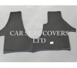 VW Transporter T5 van one piece floor mat in Grey Carpet