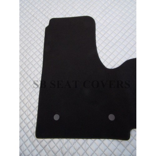 Renault trafic 2014 onwards van floor mat custom fit 1 for 1 piece floor mats
