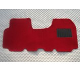 Vauxhall Vivaro van one piece floor mat in Red carpet
