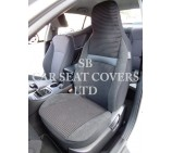 VW Transporter T5 Van Seat Covers - Rossini Ventona RM-011 - 2 Fronts