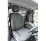 Nissan Primastar 2014 (new shape) Van Seat Covers - Made to Measure - Anthracite Fabric