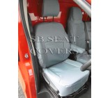 Nissan Primastar 2014 (new shape) Van Seat Covers - Made to Measure - Waterproof Grey