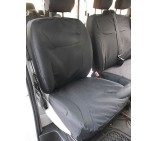 Nissan Primastar Van Seat Covers- Waterproof Black Made to Measure- Single and Double