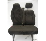 Nissan NV400 Van Seat Covers - Made to Measure - Waterproof Black
