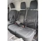 Peugeot Boxer Van Seat Covers - Made to Measure - Waterproof Black