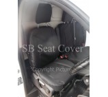Fiat Scudo Van Seat Covers - Made to Measure Waterproof Black