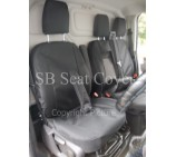 Fiat Ducato Van Seat Covers - Waterproof Black Made to Measure