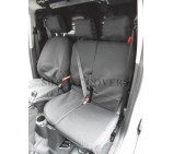 Ford Connect 2014 (new shape) Van Seat Covers - Made to Measure - Waterproof Black