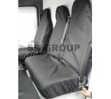 Mercedes Sprinter van seat covers waterproof black (models 2000-2005)