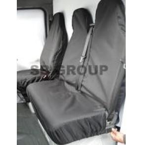 Mercedes Sprinter van seat covers waterproof black (models 2006-present)