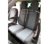 Ford Transit Van Custom Seat Covers - Made to Measure 89A Cloth Fabric