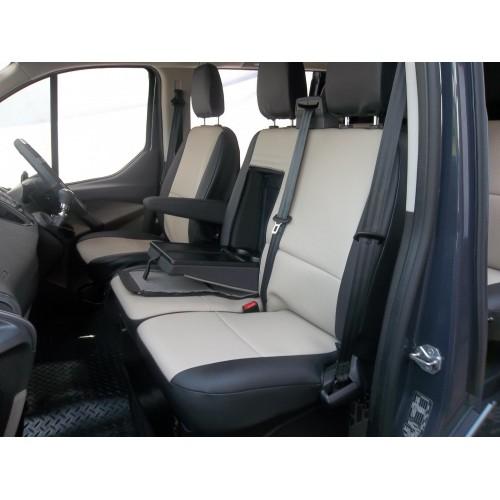 Ford Transit Custom Van Seat Covers Beige And Black
