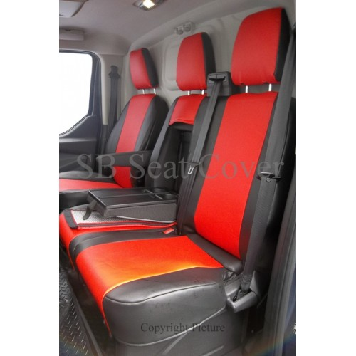 Ford Transit Custom Van Seat Covers