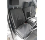 VW Crafter Van Seat Covers  - Waterproof Black - Made to Measure