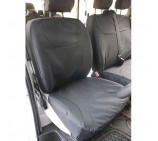Renault Trafic Van Seat Covers  - Waterproof Black - Made to Measure